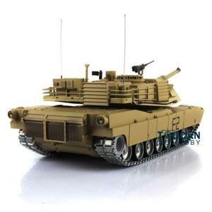 Image 4 - Henglong 1/16 echelle TK 6.0S personnaliser Abrams RC Tank 3918 360 tourelle canon recul TH12946
