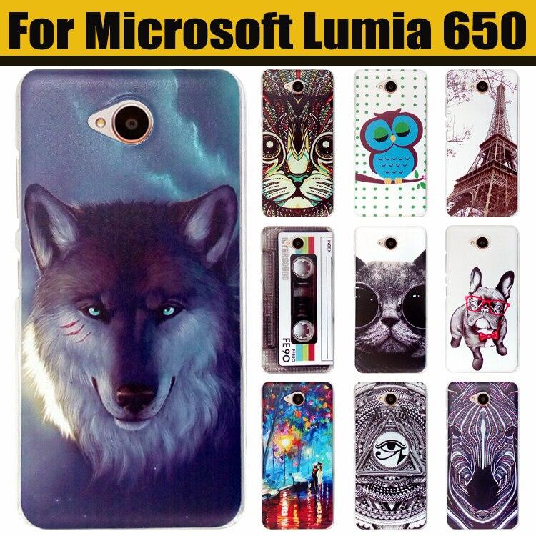 online store 345e7 ea425 US $1.53 9% OFF|JURCHEN Case For Microsoft Lumia 650 Mobile Case Cute  Cartoon Hard Cover Case For For Microsoft Nokia Lumia 650 Phone Case-in ...