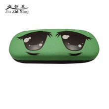Womens Clothing Accessories - Apparel Accessories - JIU ZHI XING Cute Cartoon Leather Sunglasses Box For Women Spectacle Case For Glasses Hign Quality Eye Accessories WOAINI222