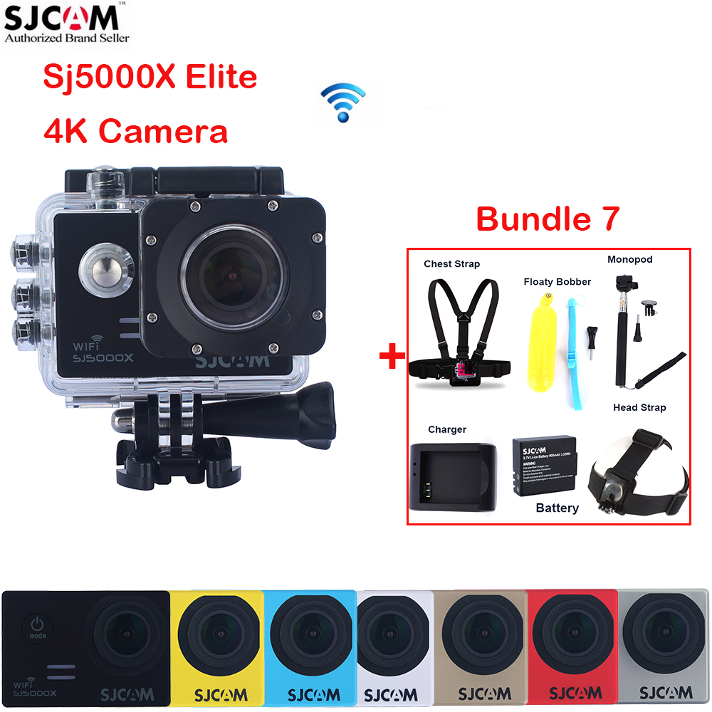100 Original SJCAM Sj5000 Series SJ5000X Elite 2 0 WiFi NTK96660 30M Waterproof Sports Action Camera