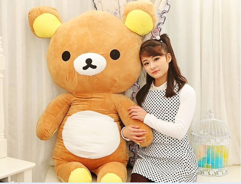 huge lovely plush happy bear toy big creative brown easily bear doll bear toy gift about
