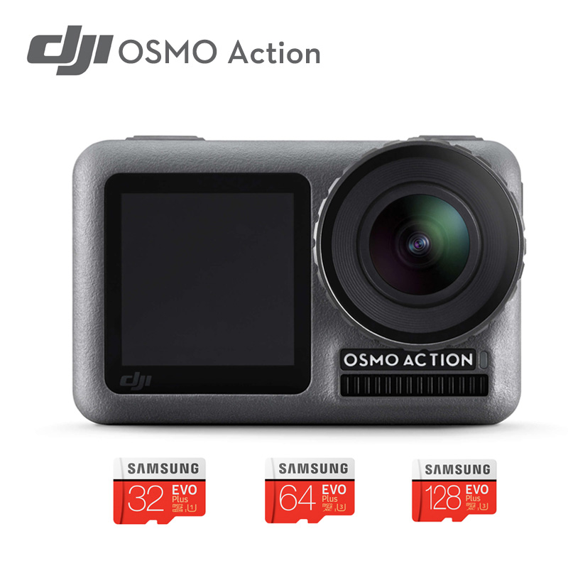 DJI Osmo Action camera Professional Sport Camera 4K HDR Video Waterproof DJI stabilized handheld Dual Screens