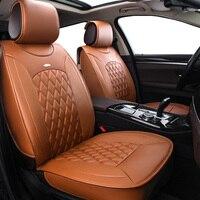 New Pu leather Auto Car Seat Covers Universal Automotive car seat cover for Fiat Uno Palio Linea Punto Bravo 500 Panda SUV auto