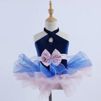 Ballet Tutu Girls Kids Children Sequined Ballerina Dresses Princess Dress Competition Performance Wear Costumes DN1058