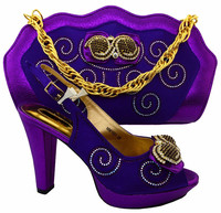 New Africa Style Shoes And Handbag Fashion Woman Shoes Pumps High Quality Italian Shoes And Matching