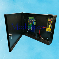 One Door Access Control Panel RFID TCP IP Single Door Security Access Controller 12V5A Back Up