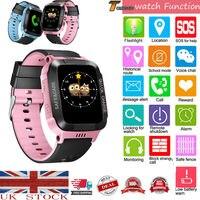 2019 heißer Kind Smart Uhr Anti verloren Kinder Sicher GPS Tracker SOS Anruf GSM Fit Für Android IOS Kinder sicher Smart Uhr Dropshipping-in Kinderuhren aus Uhren bei
