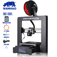 Printing Size 200 200 180mm 2016 Wanhao Touch Screen Smart Duplicator I3 Plus 3D Printer Reprap