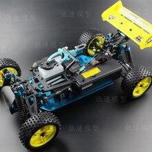 1/10 RC 4WD модель игрушечного автомобиля HSP 94166 четырехколесный двухскоростной масляный движущаяся внедорожная машина метанол масляная рама