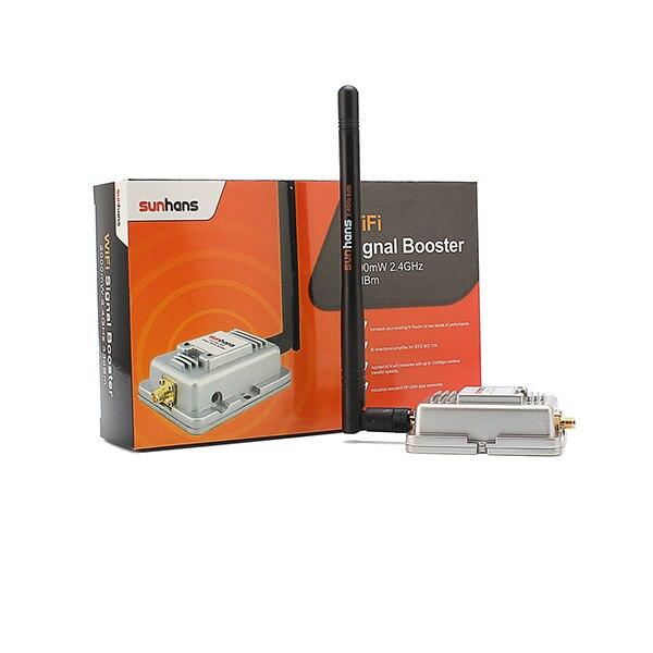 100% Оригинал SH-2000 Sunhans 2.4 ГГц 2000 МВт 33dBm IEEE 802.11b/g/n Wi-Fi Крытый Усилитель Сигнала Беспроводной усилитель