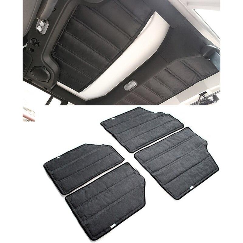 Car Black Hardtop Sound Deadener Insulation For 2011 2012