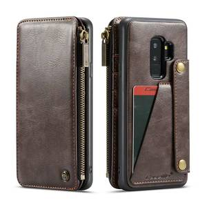 Image 4 - Purse Wristlet Phone case For Samsung Galaxy  s9 plus note9 coque Luxury Leather Fundas Etui Protective Covers accessories bags