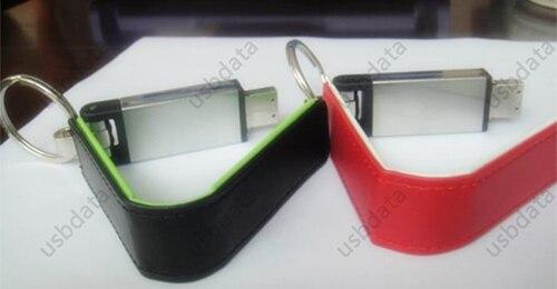 KEY Ring Zakelijk Leer USB 3.0 Flash Memory Stick Kaart Pen Drive 8 - Externe opslag - Foto 2