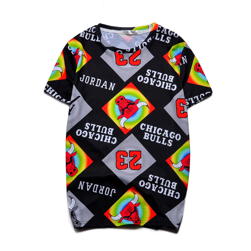 novelty short sleeve 3d t shirts team designs tops cool causal tee tops clothes for menswomens 2503 in t shirts from mens clothing accessories on - Basketball T Shirt Design Ideas