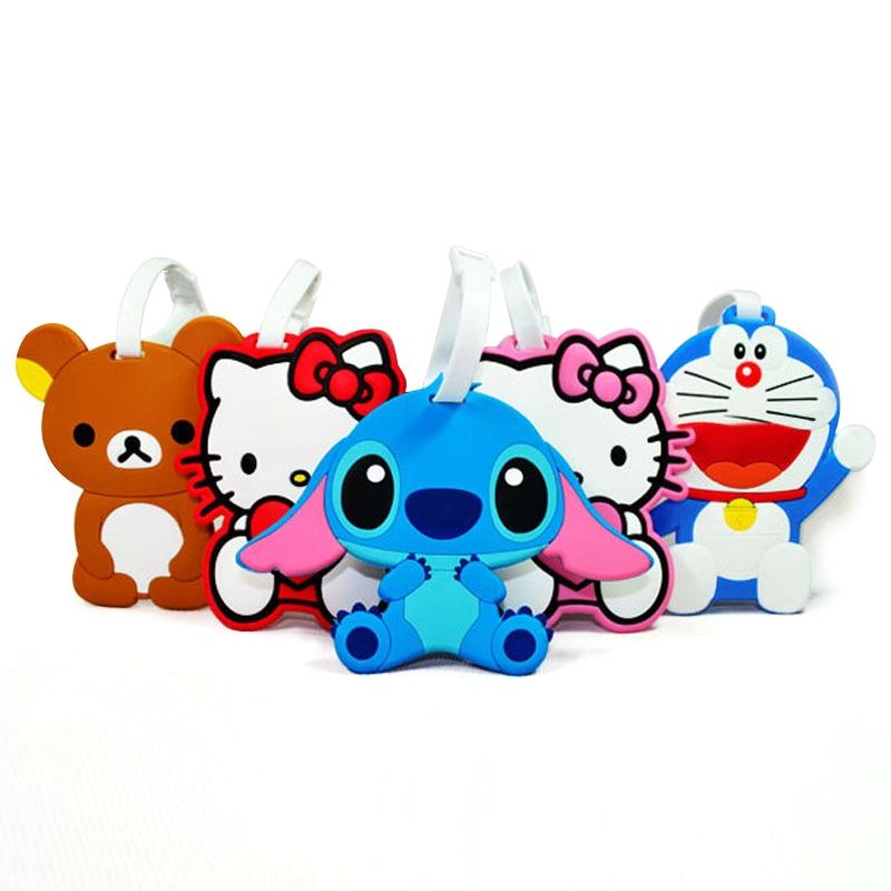 Aliexpress.com : Buy 1pcs popular Cute Cartoon luggage tag ...
