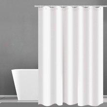hot deal buy shower curtain hotel fabric heavy weight shower curtain waterproof and mildew free bath curtains white shower curtains d40