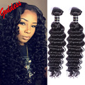 7A Grade Cambodian Virgin Hair Deep Wave 3Pcs/Lot Human Hair Extension Deep Curly Virgin Hair Weaves Cambodian Deep Wave Hair