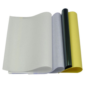 Image 2 - 100 arkuszy papier do transferu tatuażu papier do tatuażu w formacie A4 szablon termiczny papier do kopiarki węglowej do tatuażu