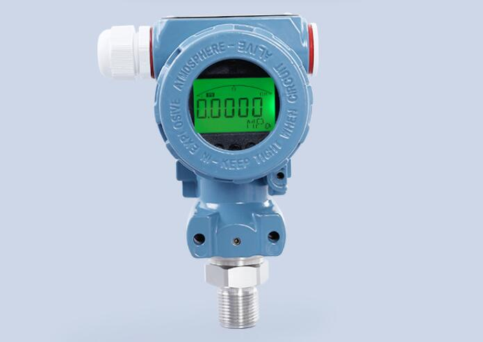 Diffused Silicon Smart Pressure Transmitter 4~20mA Industrial Explosion-proof LCD Display Pressure Transmitter 1 pcs pressure measuring instrument range 0 0 6pma pressure transmitter pressure sensor 4 20ma diffused silicon chip