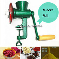 Free Shipping New Chili Soybean Grain Rice Mill Wheat Corn Flour Hand Crank Oats Flour Mill grinding miller Pulverizer 3#