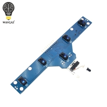Smart Electronics Five road tracing module tracing sensor tracking module 5 functions to send routines TCRT5000