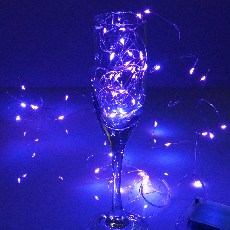 10M 5M 100 50 LEDs 3XAA Battery LED String Lights for Garland Party Wedding Decoration Christmas Tree Flasher Fairy Lights