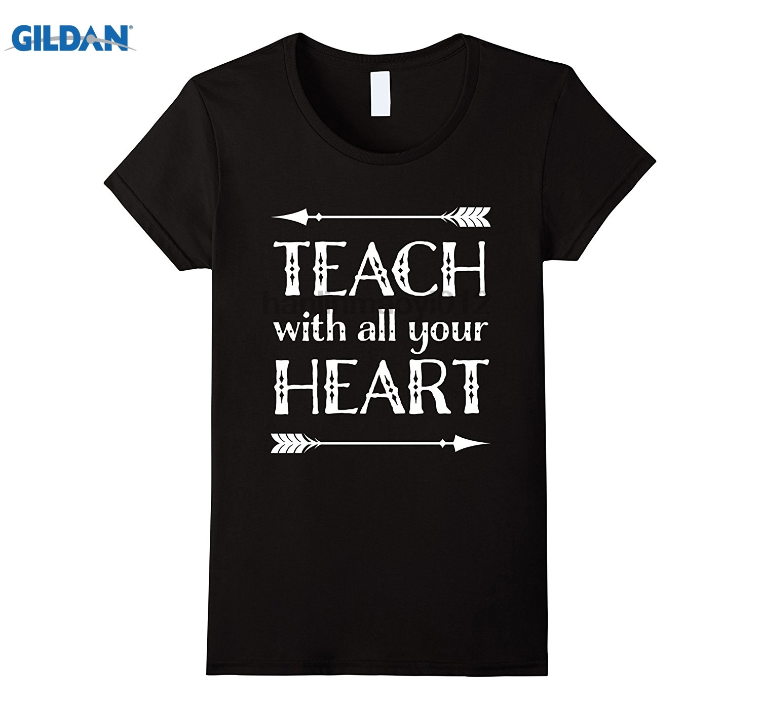 GILDAN Teacher T-shirt Back To School Teaching Appreciation Gift summer dress T-shirt