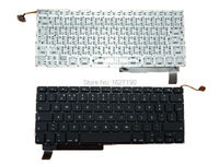 Po Portuguese Keyboard For APPLE Macbook Pro A1286 BLACK Backlit New Laptop Keyboards With Free Shipping