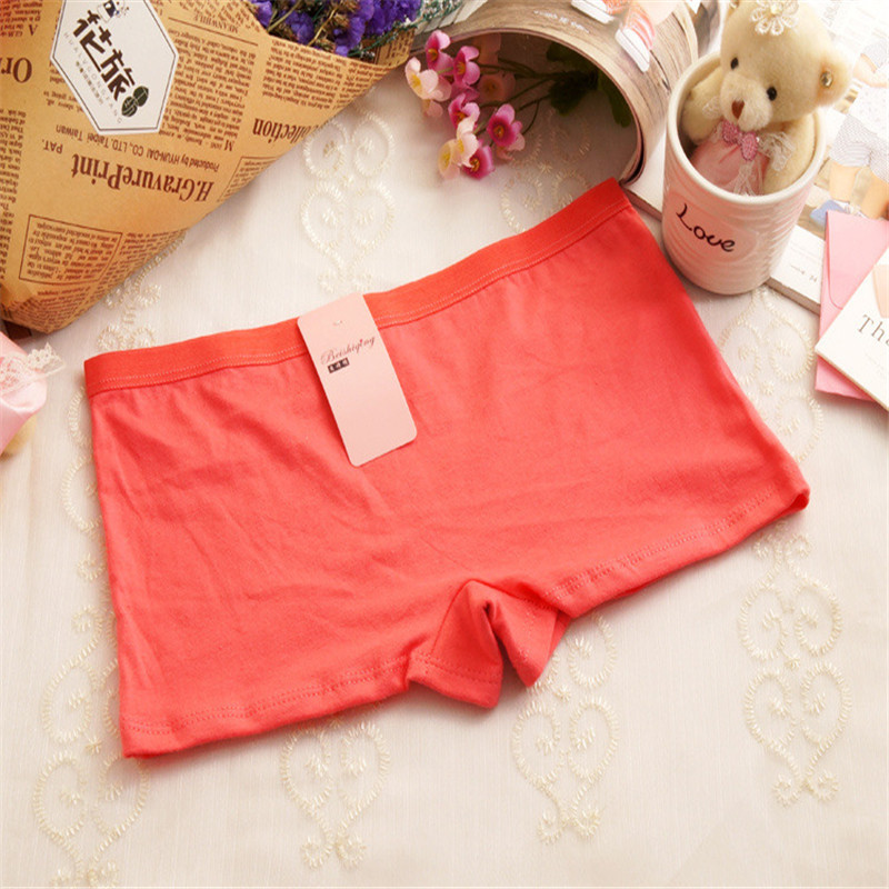 Sexy Women Casual Comfortable Seamless Boxer Shorts Culotte Girls Safety Panties Ladies Sexy Lingerie Underwear Boyshort 9Colors