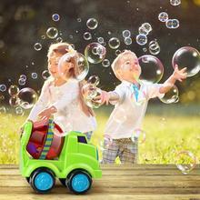 Kids Fun Car Shape Automatic Bubble Machine without Water