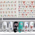 1 Pcs Water Transfer Decal Stickers Nail Art Manicure Tips Cartoon Cat Birds Design Nail Patterns Water Transfer Nail Sticker