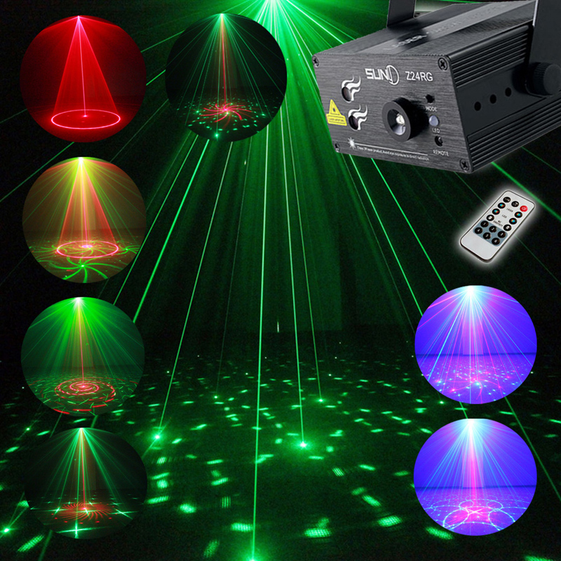 Full Color RGB Laser Stage Light Projector 3W Blue LED Stage Effect Lighting for DJ Disco Party KTV With Remote Control 14 laptop lcd screen for acer aspire 4752 4752g 4752z as4752z notebook replacement display 1366 768 40pin