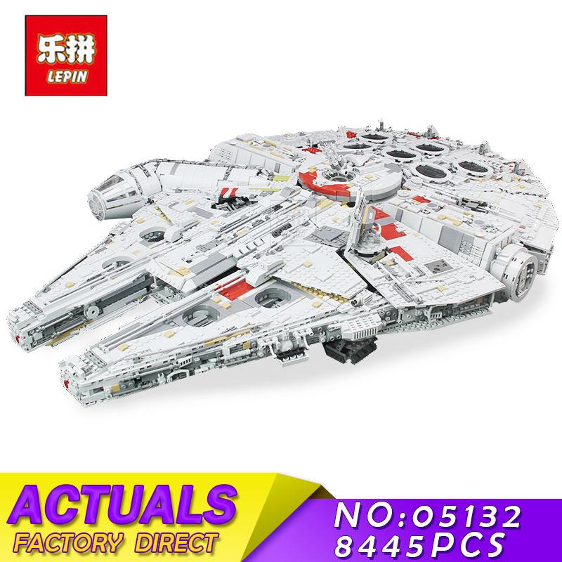 Lepin 05132 7541PCS Star Set War The Ultimate Collectors Model Destroyer Kits 75192 Building Blocks Bricks Children Toys Gifts