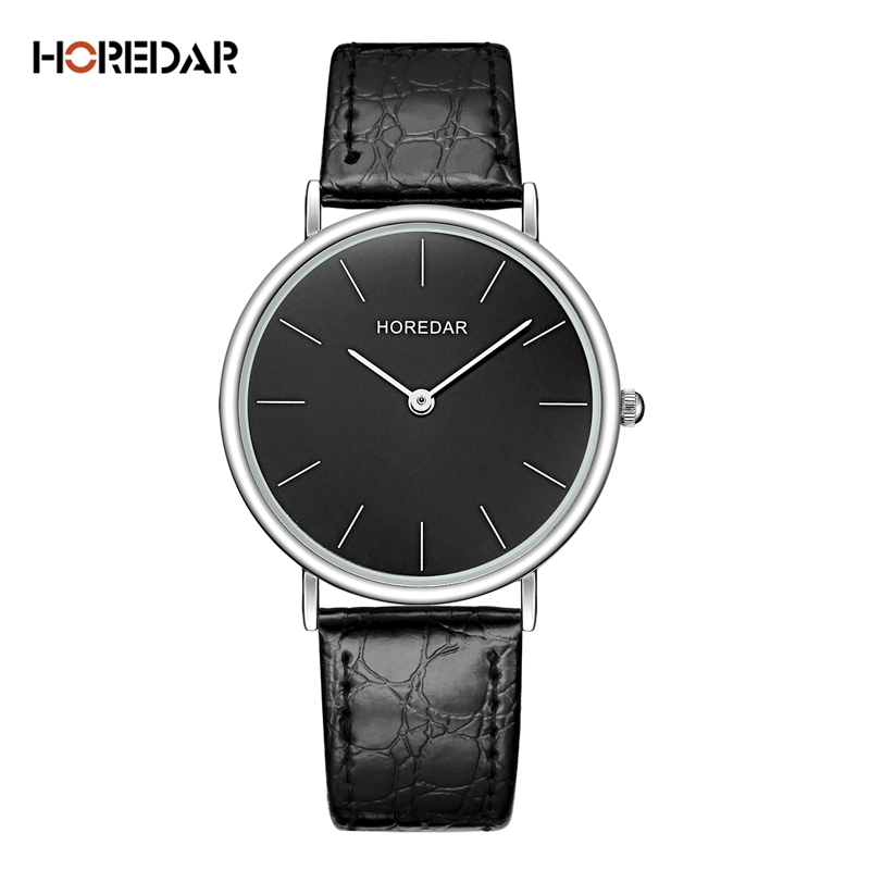 Horedar Elegant Slim Quartz Watch 2017 Luxury Top Brand