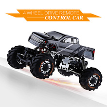 High Speed mini RC Toy Car 1:24 HBX 2098B 4 Wheel Drive Remote Control Car 2.4G Metal Structure Absorption Best Gift for Kids