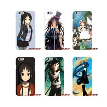 For Samsung Galaxy S3 S4 S5 MINI S6 S7 edge S8 S9 Plus Note 2 3 4 5 8 Accessories Phone Shell Covers Mio Akiyama k-on Anime(China)
