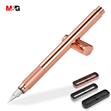 M&G Classic full metal ink fountain pen for school supplies elegant stationery office high quality luxury gift pens writing