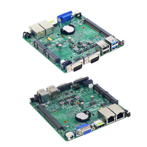 Image 5 - Fanless Mini PC Dual LAN Celeron N2830 J1800 J1900 Windows 10 2 * Serial Port 2 * LAN DDR3L HDMI VGA WIFI USB Miniคอมพิวเตอร์
