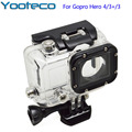 Modified 4 Generation Waterproof case 40M Waterproof Housing Case With Bracket For GoPro Hero 4/3+/3 Outdoor Action camera