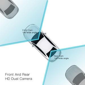 Image 2 - JADO D560 rejestratory samochodowe 6.86 ekran LCD Full HD 1080 P rejestratory samochodowe rejestrator na lusterko wsteczne Dash cam rejestrator