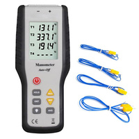 4 Channel Thermocouple Sensor K Type High Handheld Digital Tester Professional Industrial Thermometer With Probe Tools
