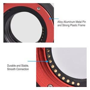 Крепление для объектива Seafrogs с автоматической фокусировкой AF макро Удлинительное Кольцо для FujifilmX F2 X-T20 XT2 X-T10 XT3 X100F X-H1 и т. д.