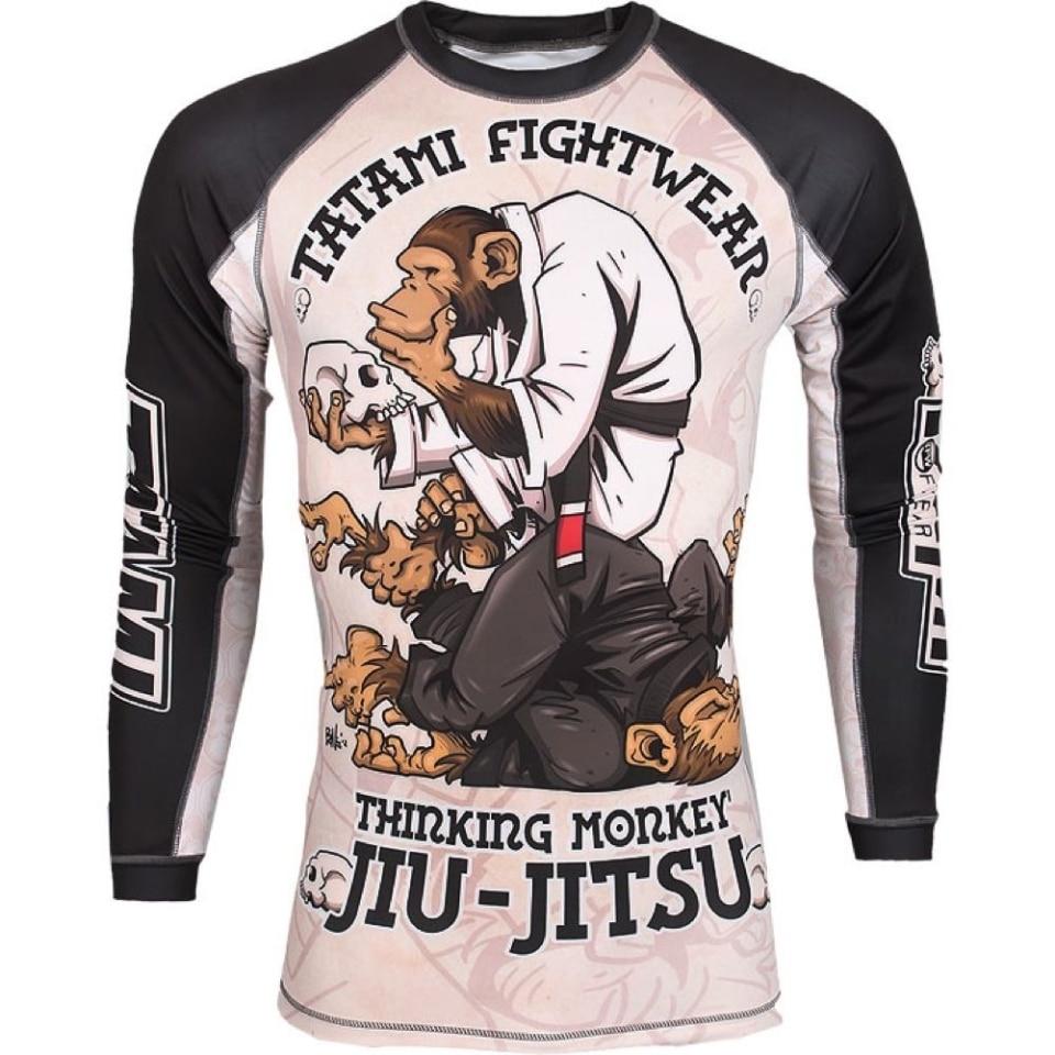 Mma Monkey Pattern Training Boxing Jerseys Tiger Muay Thai Jiu Jitsu T Shirt Mma Clothing King Boxing Sauna Suit Mma Compression