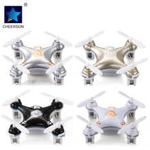 Cheerson RC Helicopter CX10A CX-10A 2.4GHz 4CH RC Mini Drone Quadcopter UFO with Headless Mode Quadrocopter
