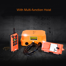 220v Mini Electric Wireless Remote Control Switch Small Crane Hoist Winch Controller
