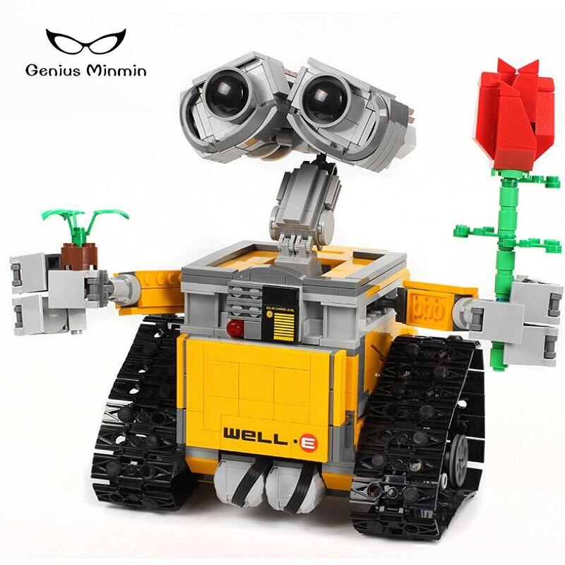 Mur RC avec télécommande E Robot blocs de construction de briques de bricolage jouets compatibles avec la technique de lego
