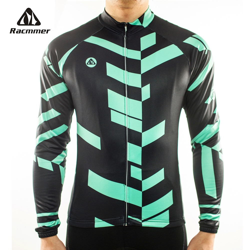 Racmmer 2019 Cycling Jersey Long Sleeve Mtb Clothing Bike Wear Clothes Kit Bicycle Maillot Roupa Ropa De Ciclismo Hombre #CX-04