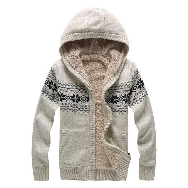 2016 moda de tejer patrones Mens suéter suéteres gruesos para hombre ...
