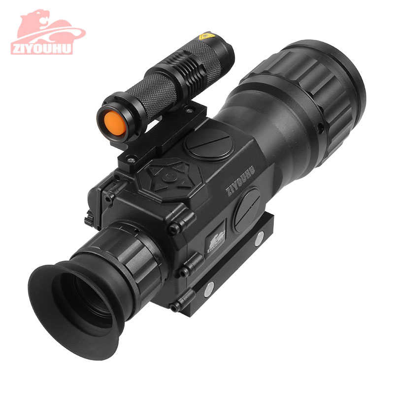 ZIYOUHU Infrared Night Vision Rifle Optics Scope Digital Function Aiming Device Sighting Telescopic Sight Night Vision Monocular