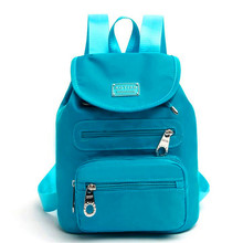 Real Brand 2017 AT New Casual Women Backpack Female Backpacks High Quality Nylon Women Bag Women's Travel Backpack